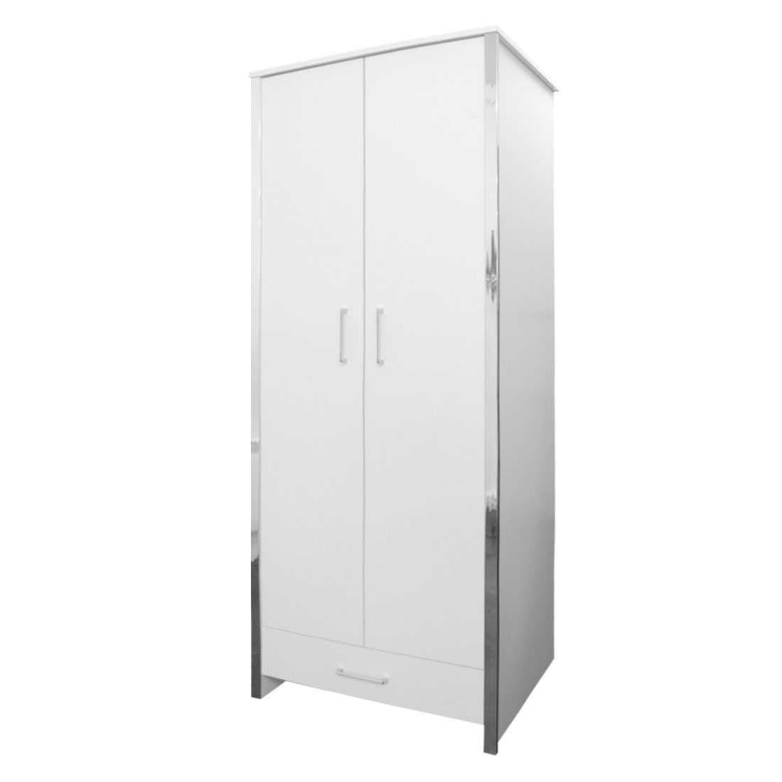 Gosport - 2 Door 1 Drawer Wardrobe